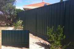 Colorbond-Fence-with-Plinths