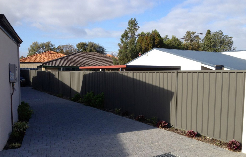 Colorbond Fence Installation Perth