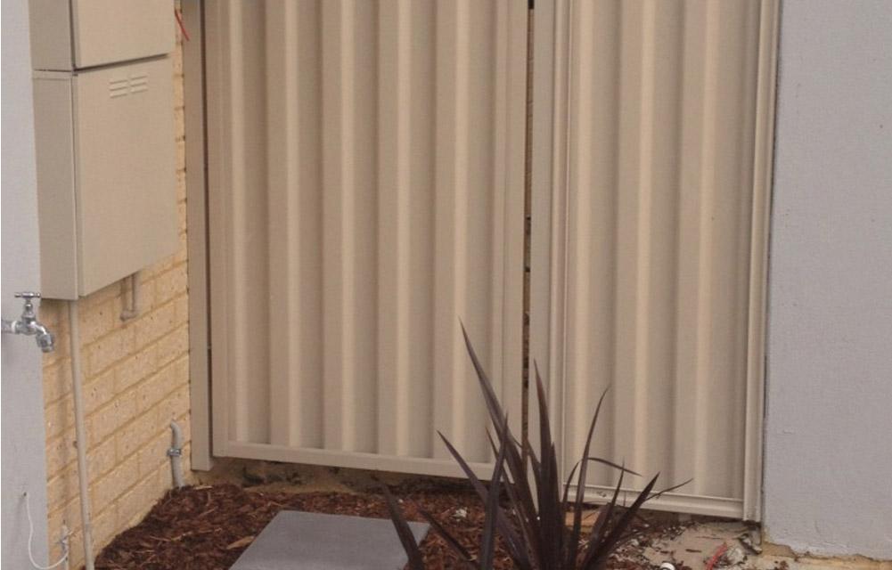 Colorbond fencing installation Perth