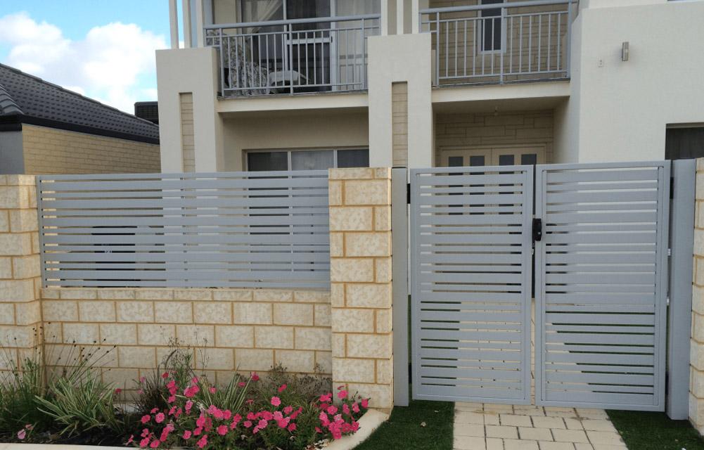aluminium slat fencing Perth